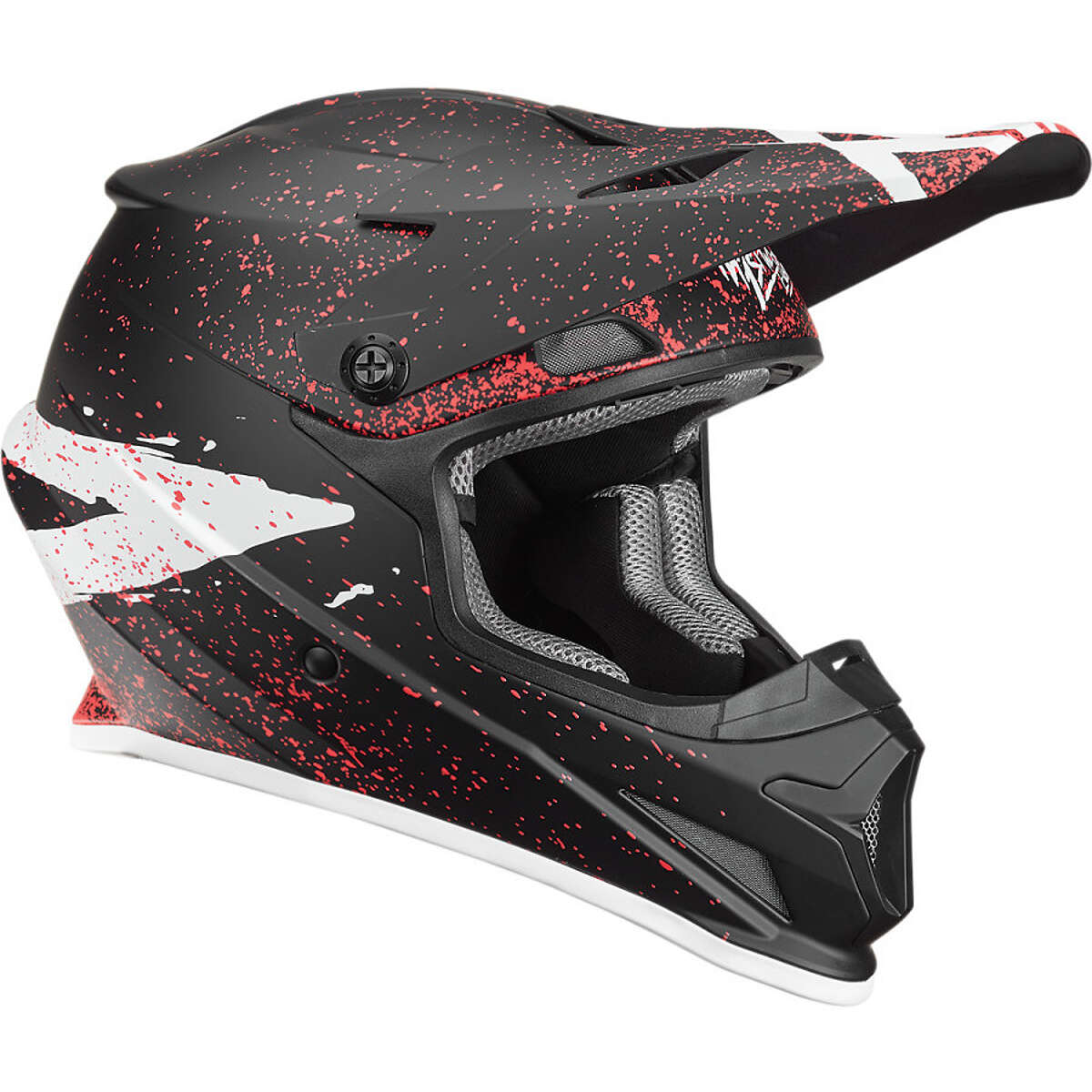 Thor Helmet Sector Hype - Black/Coral