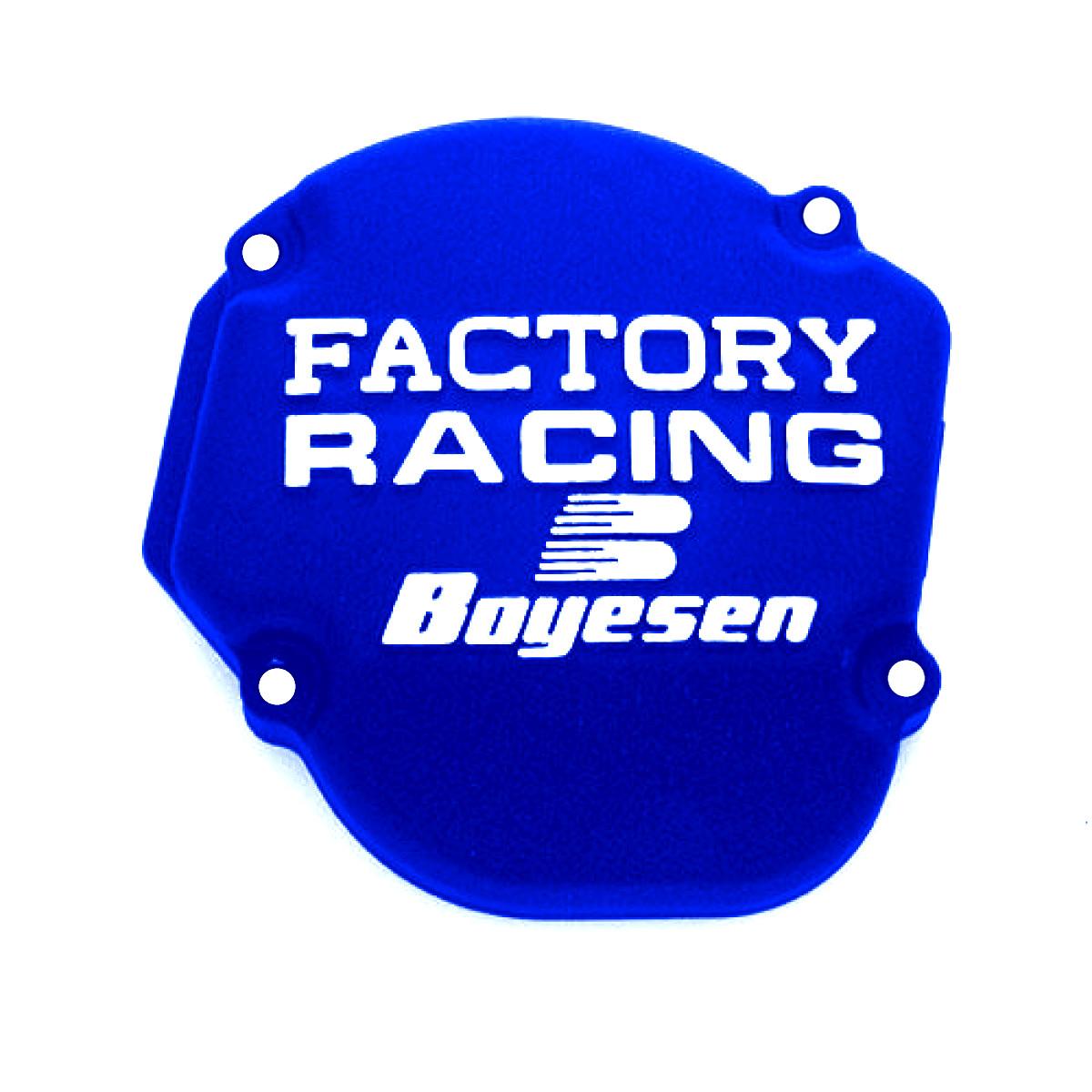 Boyesen Ignition Cover Factory Yamaha YZ 125 05 17 Blau