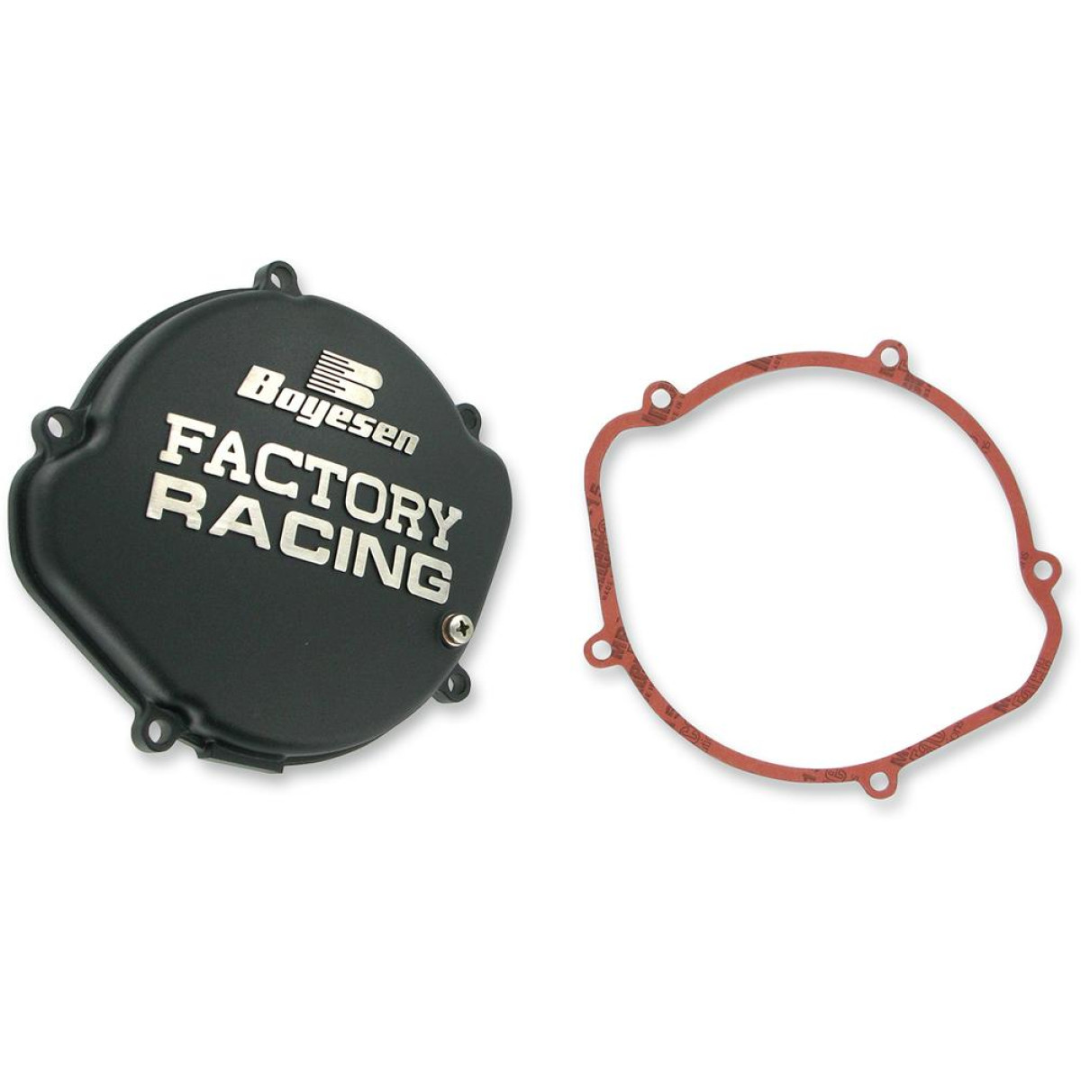 Boyesen Clutch Cover Factory Honda Cr 125 00 07 Black Maciag Offroad