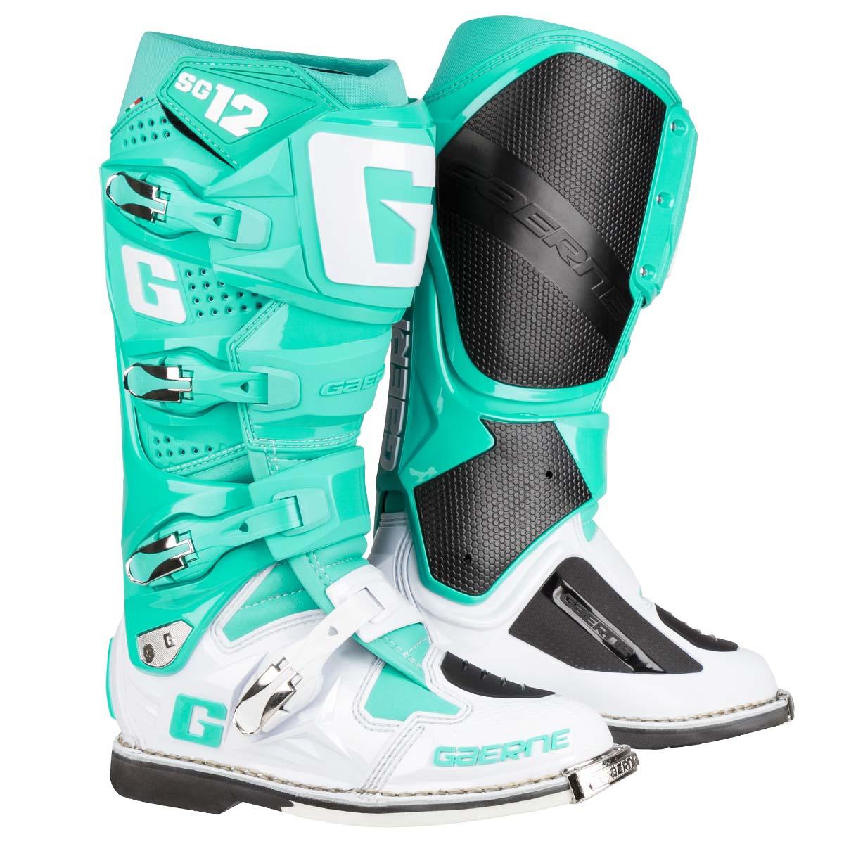 Gaerne Boots Sg12 >> Gaerne MX Boots SG 12 Aqua - Special Edition | Maciag Offroad