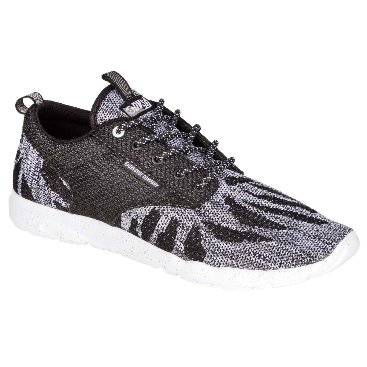 DVS Schuhe Premier 2.0+ Black White Knit