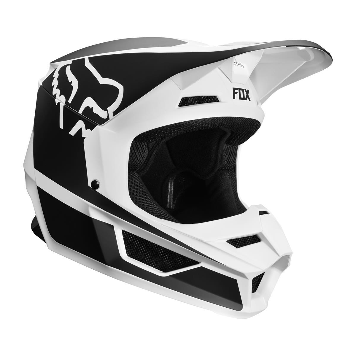 Fox Helm V1 Przm - Schwarz/Weiß