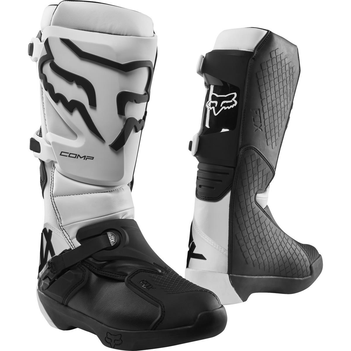 Fox MX Boots Comp White