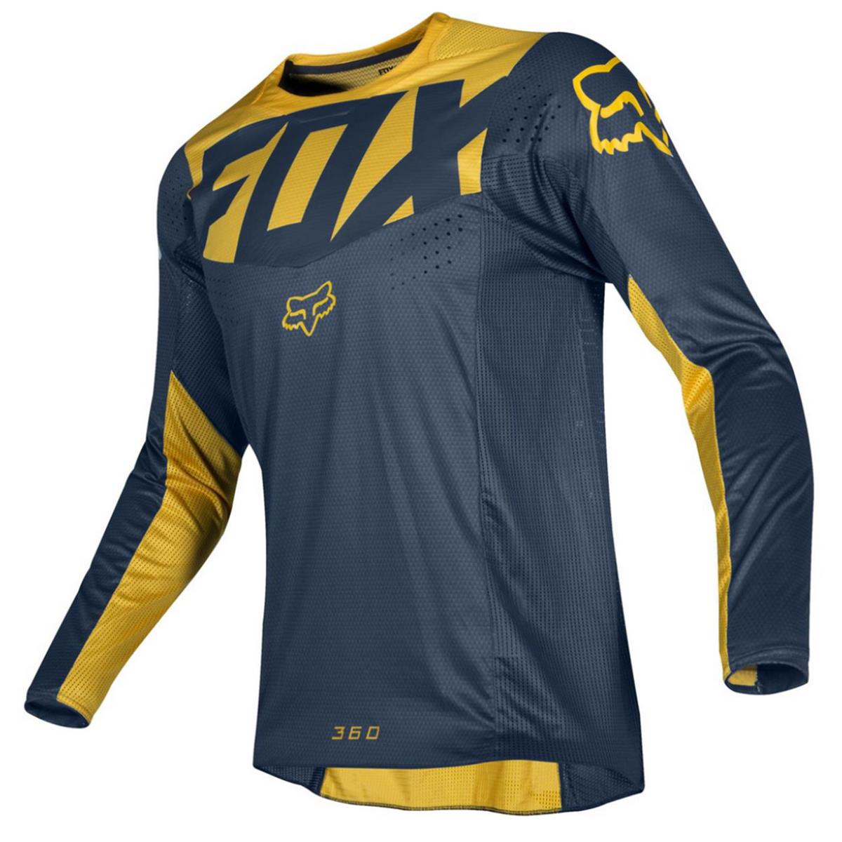 Fox Jersey 360 Kila Navy/Yellow