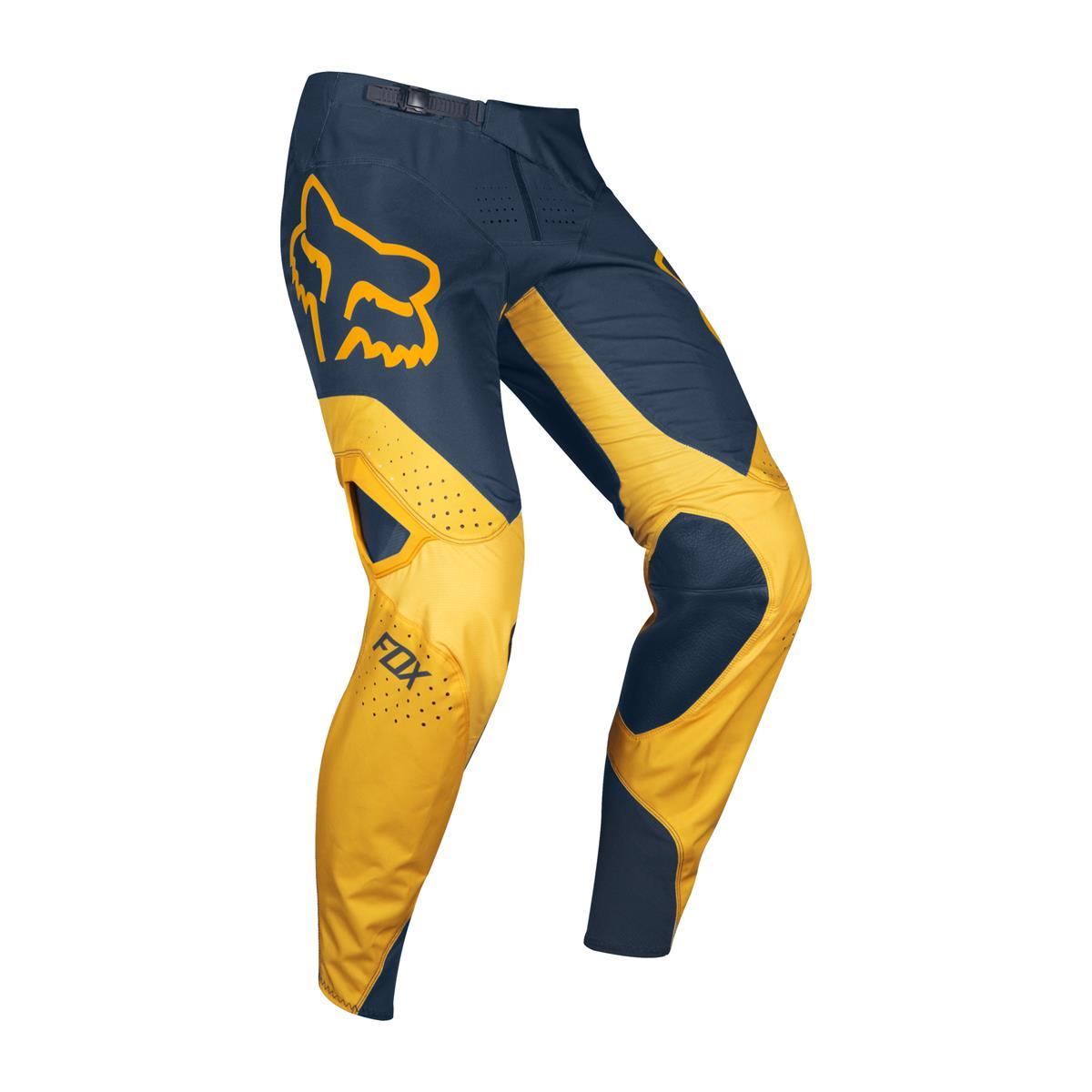 FOX 360 Kila Motocross Hose Blau//Gelb 28