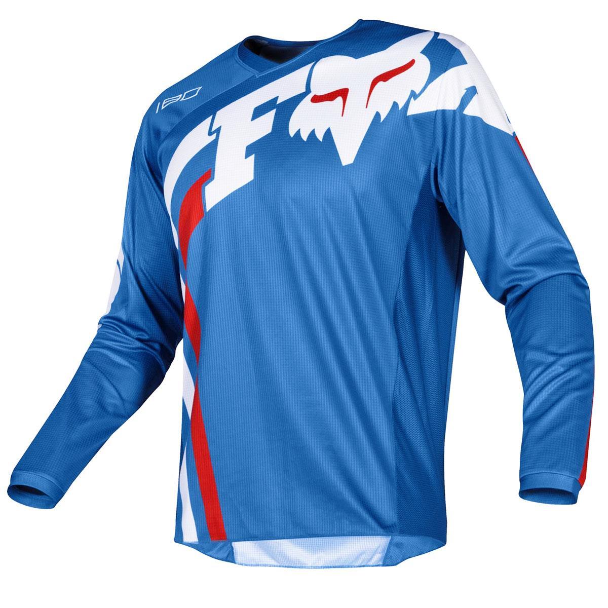 Fox Jersey 180 Cota Blau