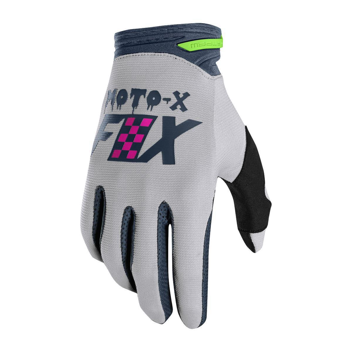 Fox Handschuhe Dirtpaw Czar Light Grey