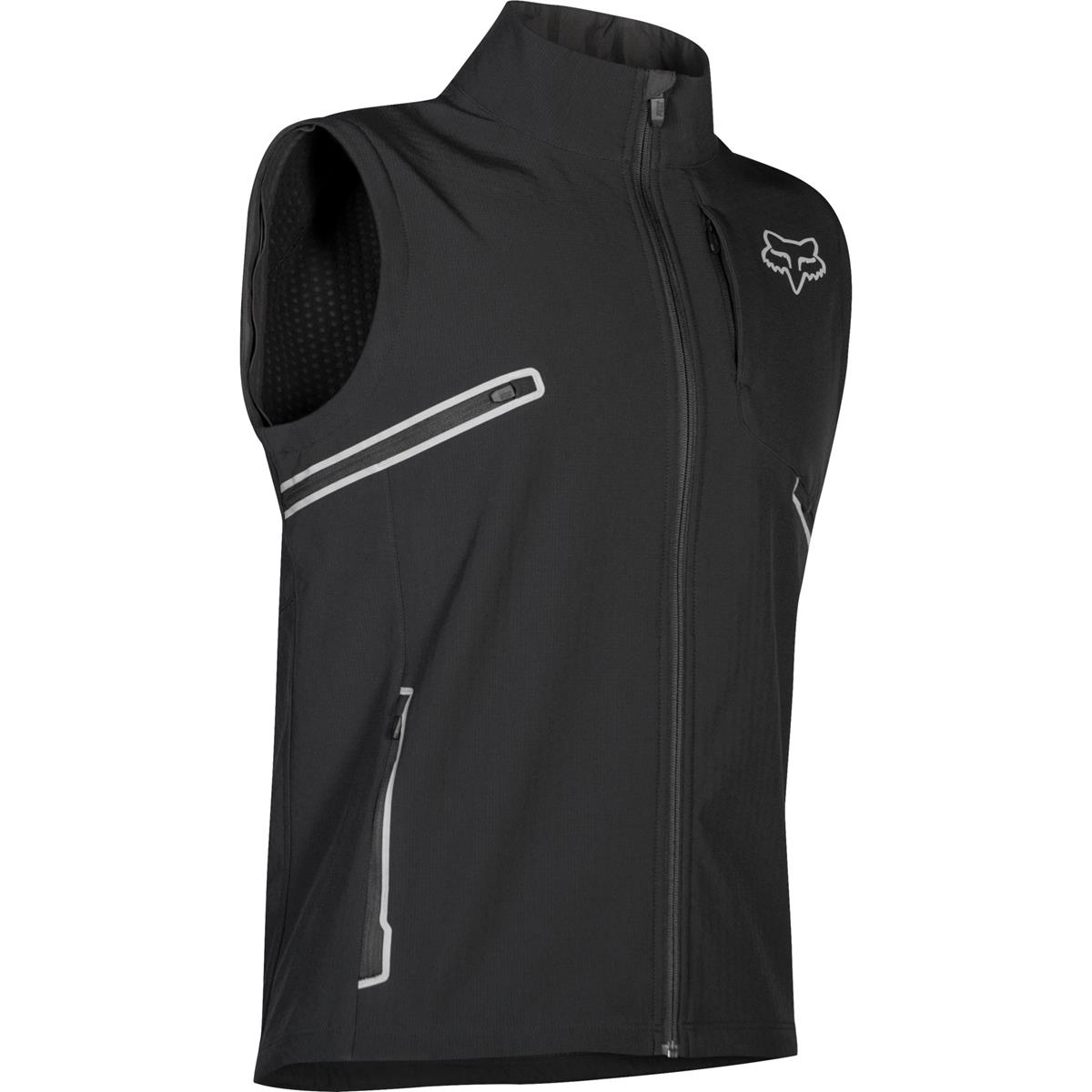Fox Racing Legion Softshell Mens MX Offroad Jacket Black