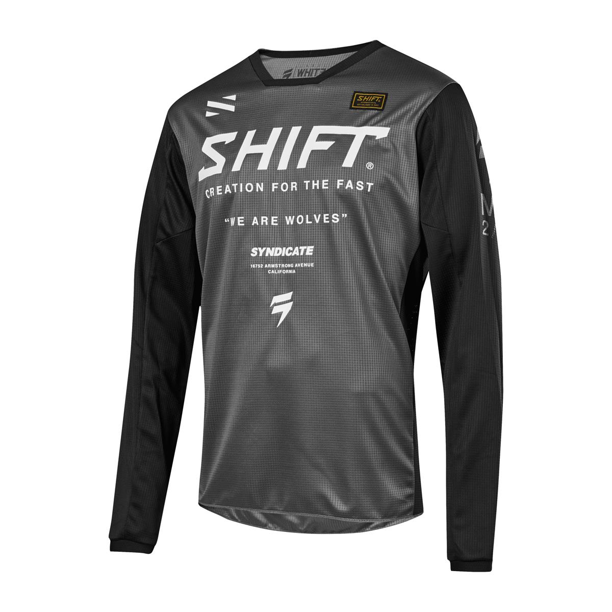 Shift Kids Jersey Whit3 Label Muse Smoke 2019 | Maciag Offroad