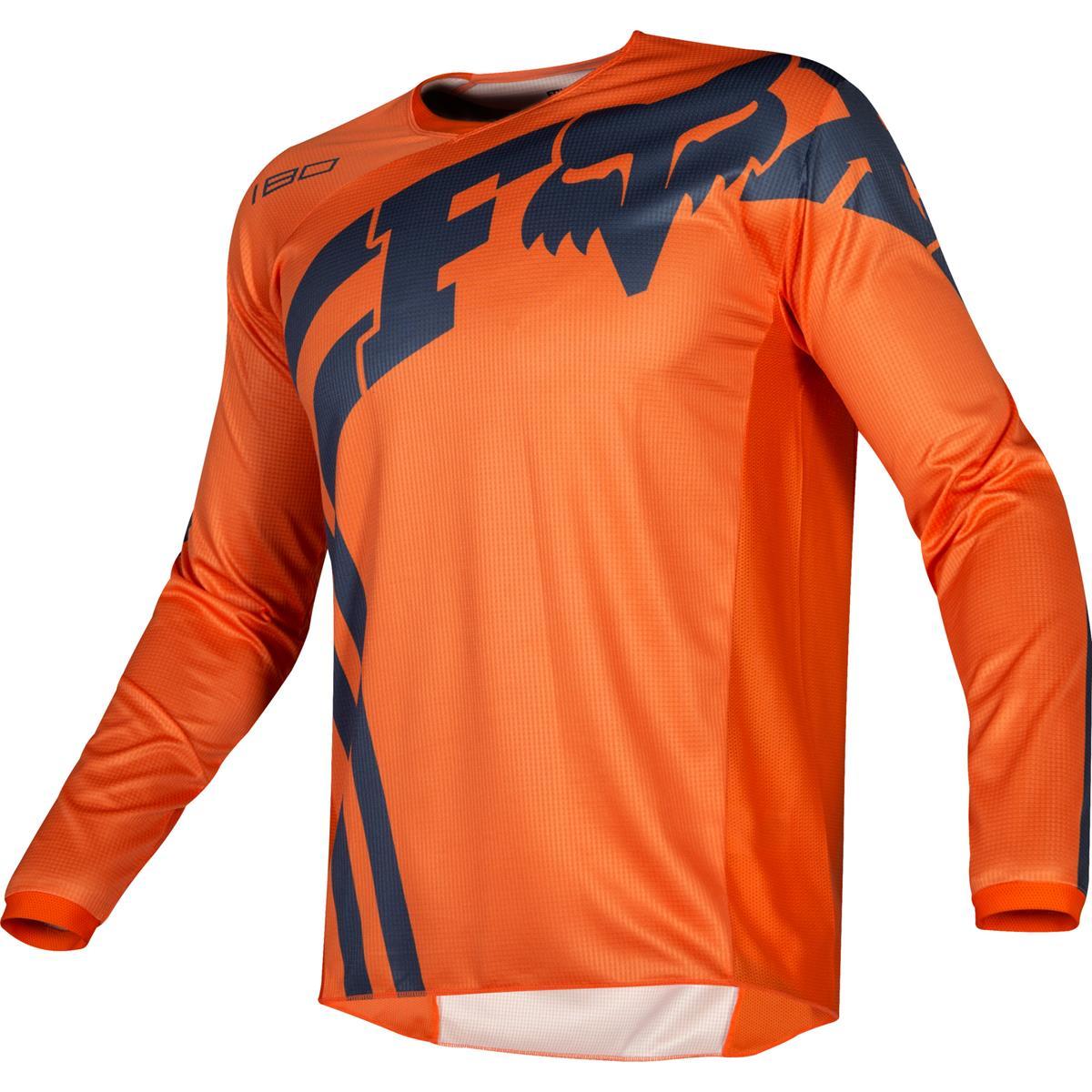 Fox Kids Jersey 180 Cota Orange