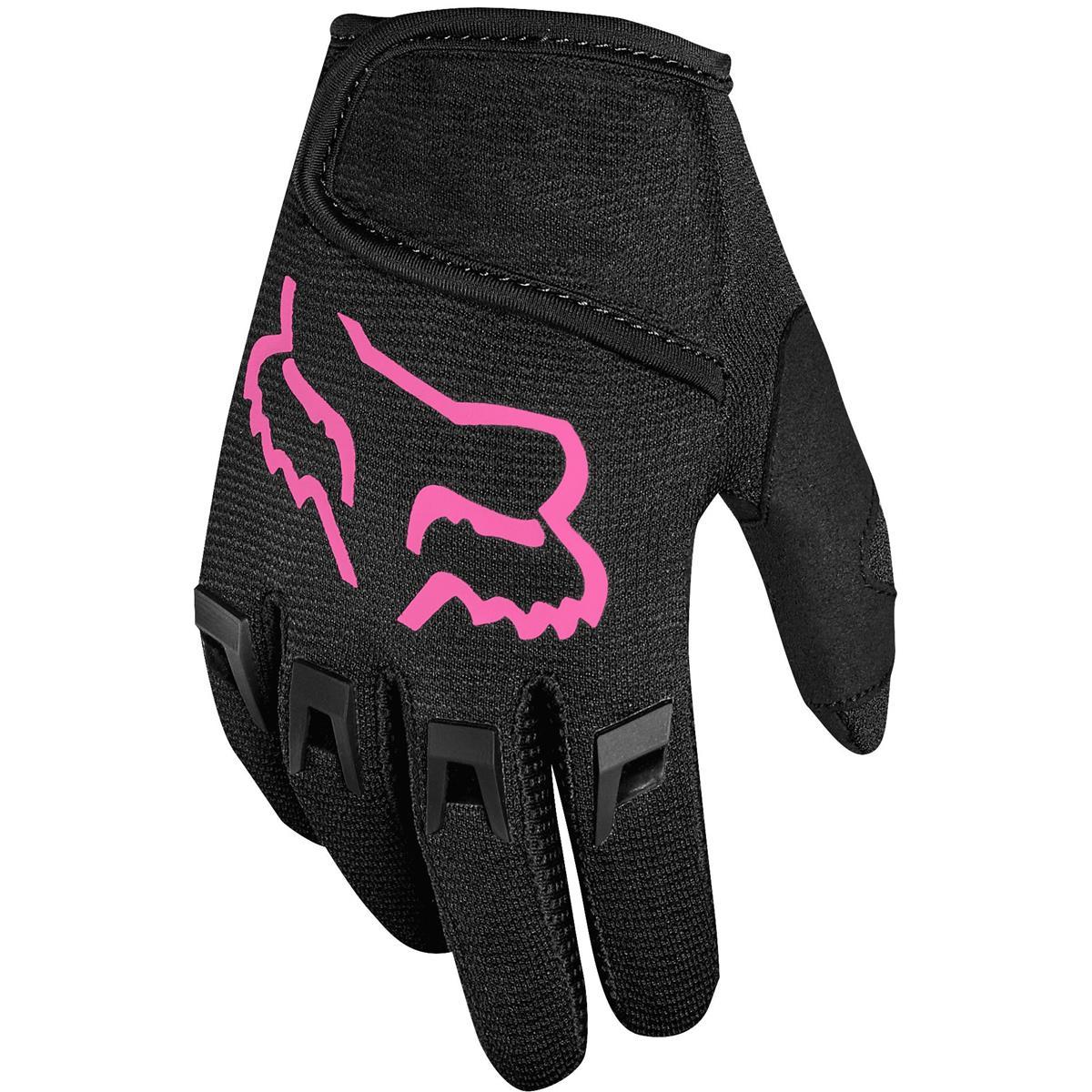 Fox Junior Handschuhe Dirtpaw Schwarz/Pink