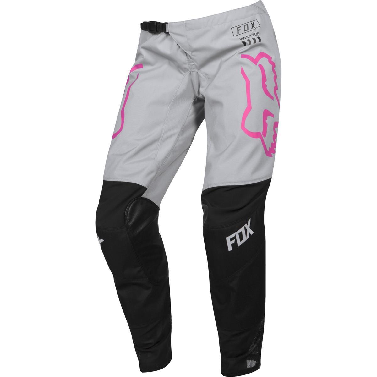 Fox Girls Cross Hose 180 Mata Schwarz/Pink
