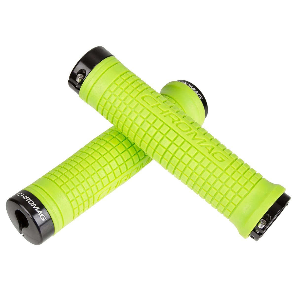 Chromag MTB-Griffe Squarewave XL Lock-On Tight Green