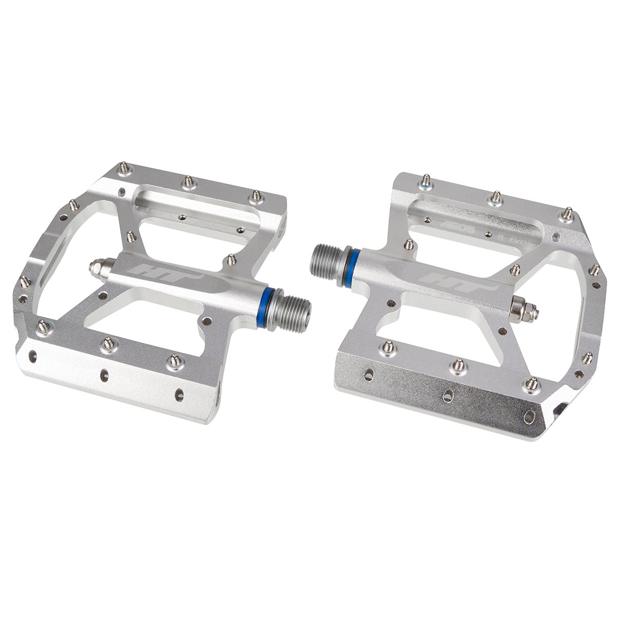 HT Components Pedale AE05 Silber
