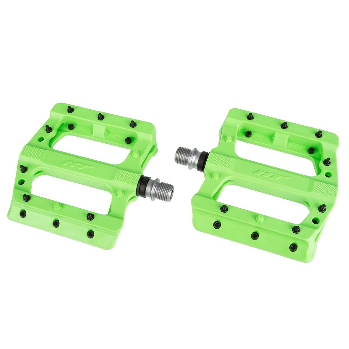 HT Components Pedale PA01A Neongrün