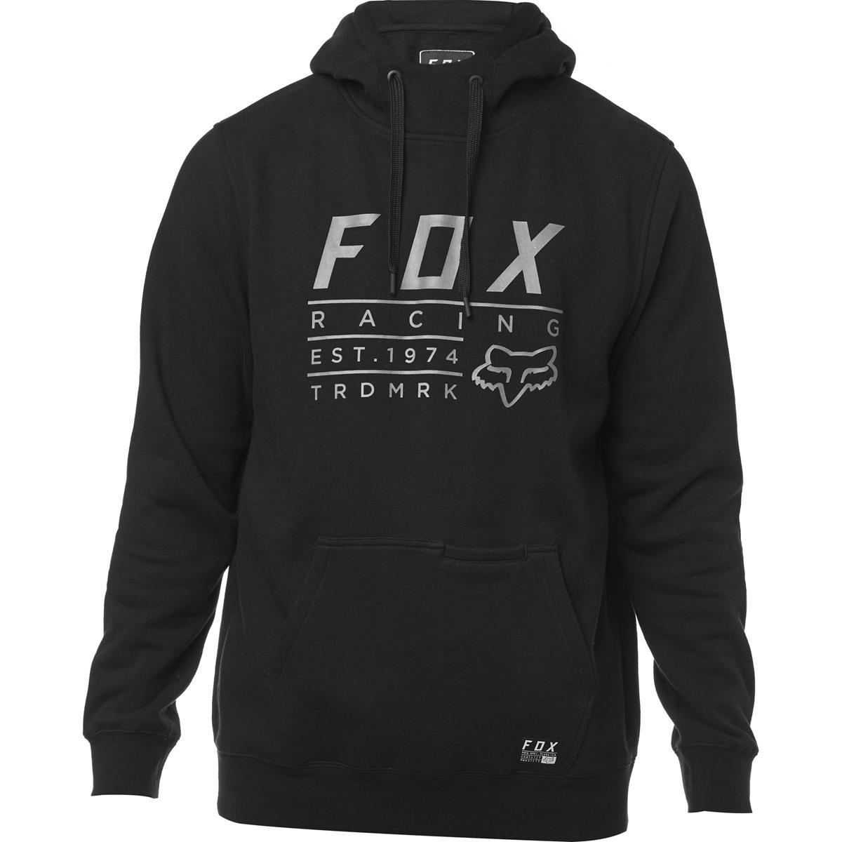 Fox Hoody Lockwood Schwarz