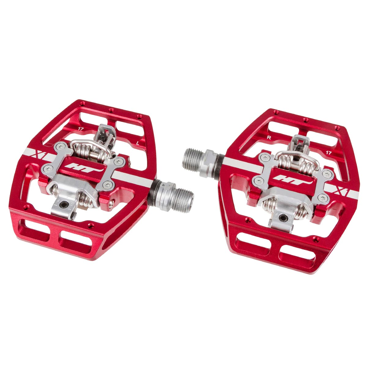 HT Components Klickpedale X1 Rot