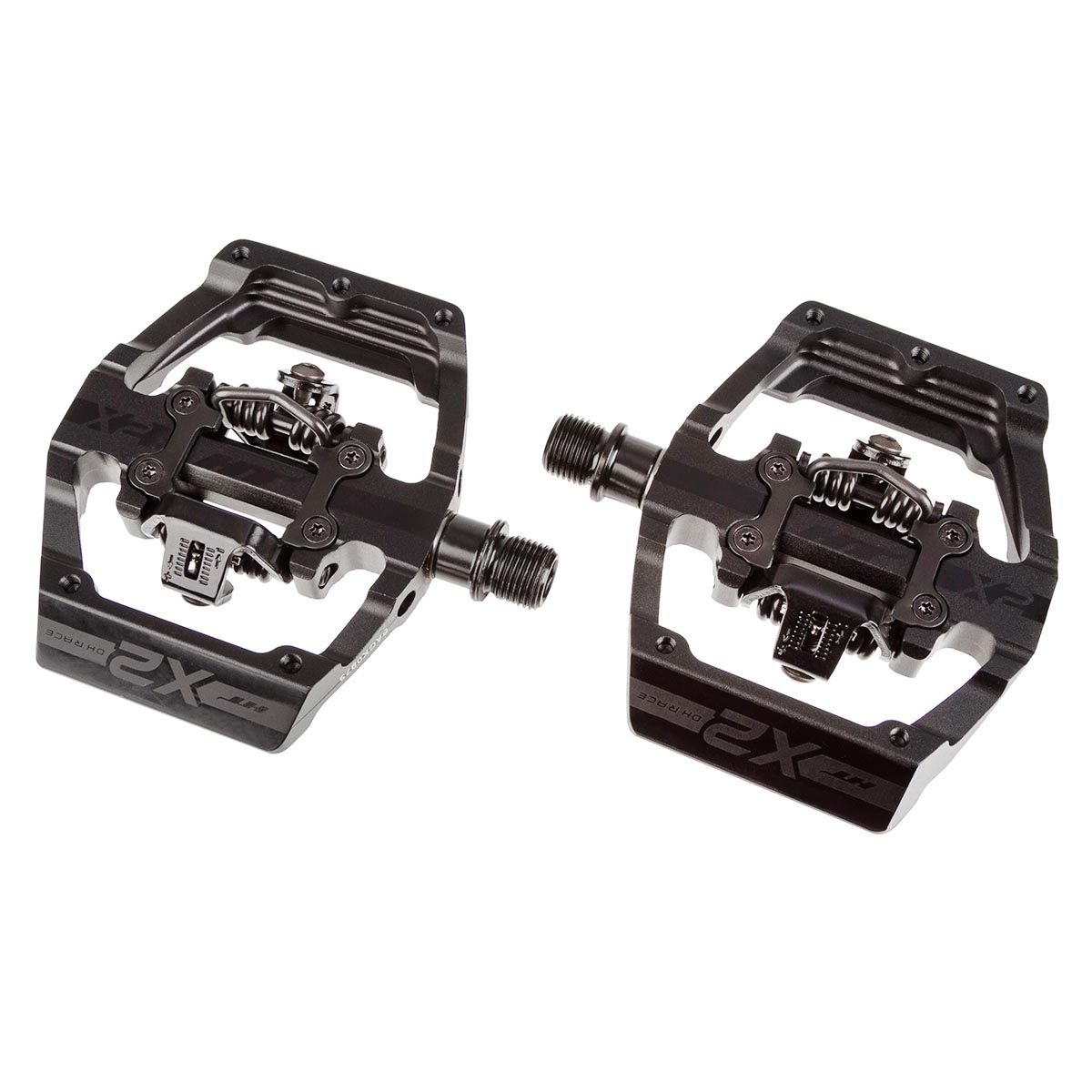 HT Components Klickpedale X2 Stealth Black