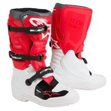 Alpinestars Tech 7S Kids Motocross-Stiefel Weiß/Rot/Grau 2019