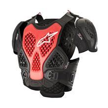 Alpinestars Bionic MX Brustpanzer Schwarz/Rot 2019