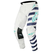 Alpinestars Racer Cross Hose Braap - Cool Grey/Dark Navy/Teal 2019