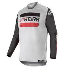 Alpinestars Racer Jersey Tactical - Schwarz/Grau/Burgunder 2019
