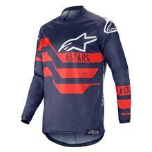 Alpinestars Racer Jersey Flagship - Dark Navy/Blau/Rot 2019