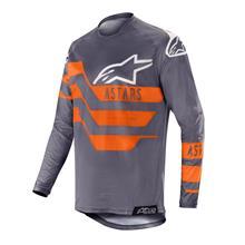 Alpinestars Racer Jersey Flagship - Mid Grey/Anthrazit/Orange Fluo 2019