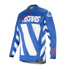 Alpinestars Racer Jersey Braap - Blau/Weiß/Rot 2019