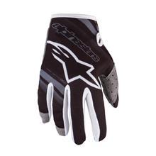 Alpinestars Radar Kids Handschuhe Schwarz/Mid Grey 2019