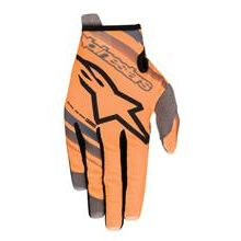 Alpinestars Radar Kids Handschuhe Orange Fluo/Schwarz 2019