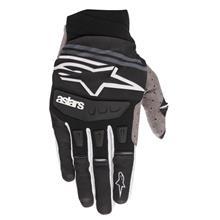 Alpinestars Techstar Handschuhe Schwarz/Weiß 2019