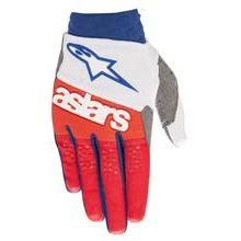 Alpinestars Racefend Handschuhe Weiß/Rot/Blau 2019