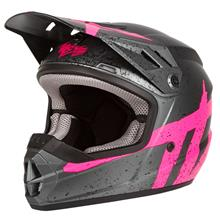 Thor Sector Kids Helm Hype - Charcoal/Pink 2019