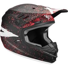 Thor Sector Kids Helm Hype - Schwarz/Coral 2019
