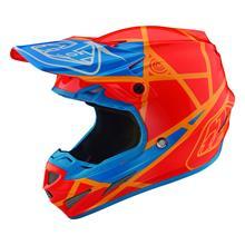 Troy Lee Designs SE4 Composite MIPS Helm Honey/Orange 2019