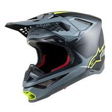Alpinestars Supertech S-M10 Helm Meta - Schwarz/Grau/Gelb 2019