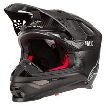 Alpinestars Supertech S-M10 Helm Solid - Matt Schwarz Carbon 2019