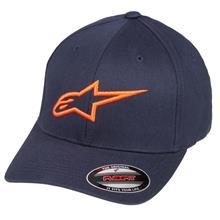 Alpinestars Ageless Curve Flexfit Cap Navy/Orange Fall 2018