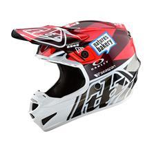 Troy Lee Designs SE4 Polyacrylite Helm Jet - Orange/Grau 2019