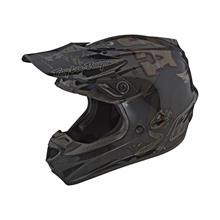 Troy Lee Designs SE4 Polyacrylite Helm Baja - Schwarz 2019
