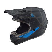 Troy Lee Designs SE4 Polyacrylite Helm Metric - Schwarz 2019