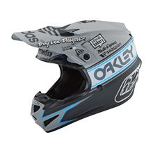 Troy Lee Designs SE4 Polyacrylite Helm Team Edition 2 - Grau 2019