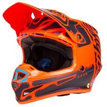 Troy Lee Designs SE4 Polyacrylite Helm Factory - Orange 2019