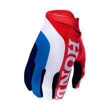 0434cbfc5 (40) Troy Lee Designs Air Gloves Honda - Red White 2019