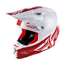 Fly Racing F2 Carbon MIPS Helm Weiß/Rot 2019