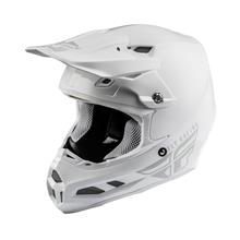 Fly Racing F2 Carbon MIPS Helm Solid Weiß 2019