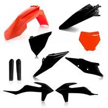 Acerbis Plastik-Kit Full-Kit KTM SX 125/150/250, SX-F 250/350/450 2019, Schwarz/Orange