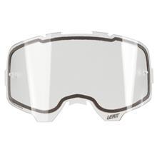 Leatt Velocity 6.5 Iriz Weiß Crossbrille verspiegelt Enduro MX Motocross Brille Radsport