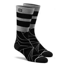 100% Fracture Socken Schwarz 2019
